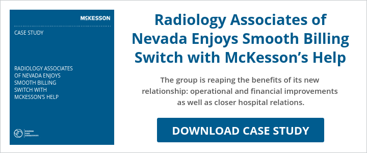 Radiology Associates of Nevada Enjoys Smooth Billing Switch with McKesson's Help