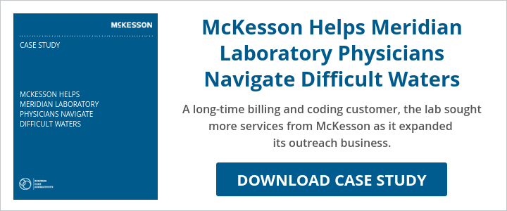 McKesson Helps Meridian Laboratory Physicians Navigate Difficult Waters