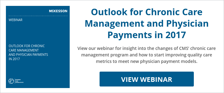 Outlook for Chronic Care Management and Physician Payments in 2017