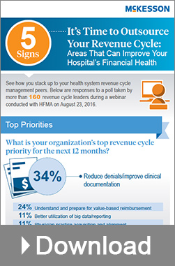 Infographic - Five Signs its Time to Outsource Your Revenue Cycle