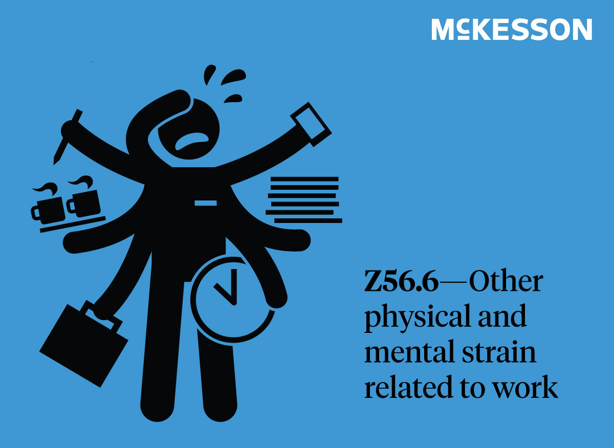 Other physical and mental strain related to work