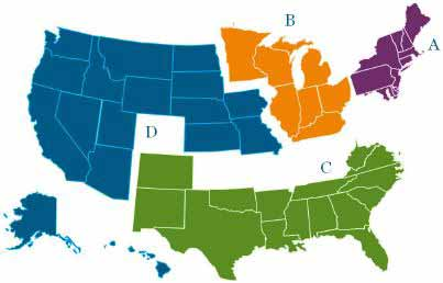 CMS Approved RAC Issues by Region