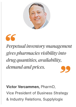 Optimizing Perpetual Inventory Systems for Retail Chain Pharmacies