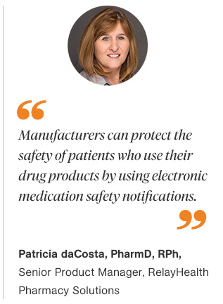 Using Electronic Medication Safety Notifications to Improve Patient Care Quote