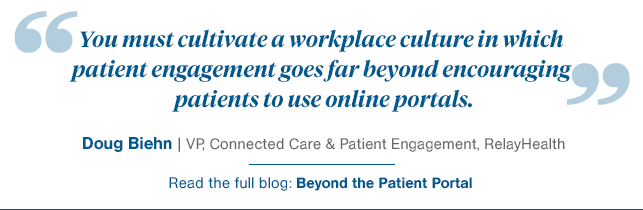Quote-Building Patient Engagement Culture