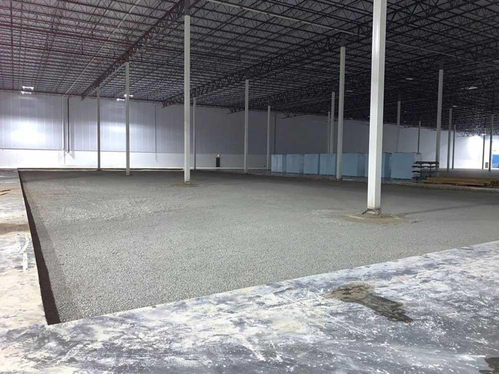 Distribution facility under construction