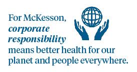 Corporate Social Responsibility (CSR) Strategy   McKesson
