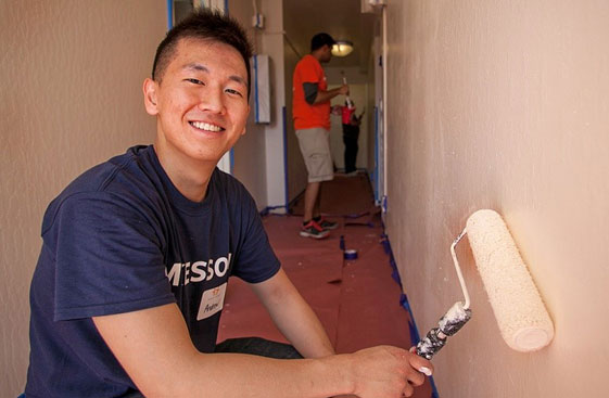 When a McKesson employee volunteers 25 hours, they earn a $250 Foundation grant for a nonprofit.