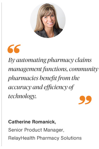 Improving Pharmacy Claims Reimbursement for Community Pharmacies