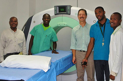 Advancing Global Health CT Scanner