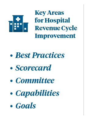 Five Ways to Improve Hospital Revenue Cycle Performance Graphic