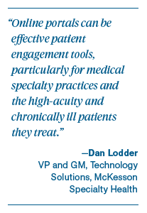 Optimizing Patient Portals