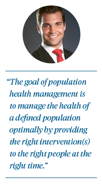 Population Health Management and Cost Control Quote