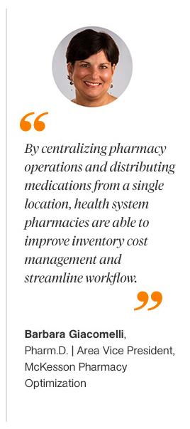 Quote Centralizing Drug Distribution for Health System Pharmacies
