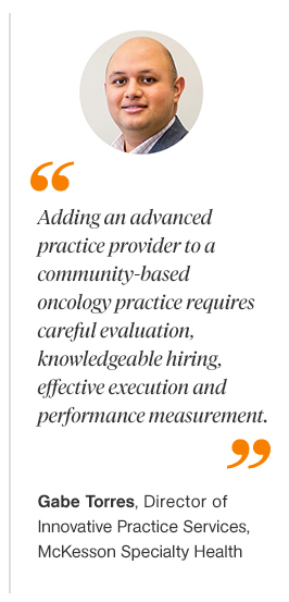 Incorporating Advanced Practice Providers into an Oncology Practice Quote