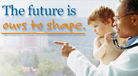The future is ours to shape